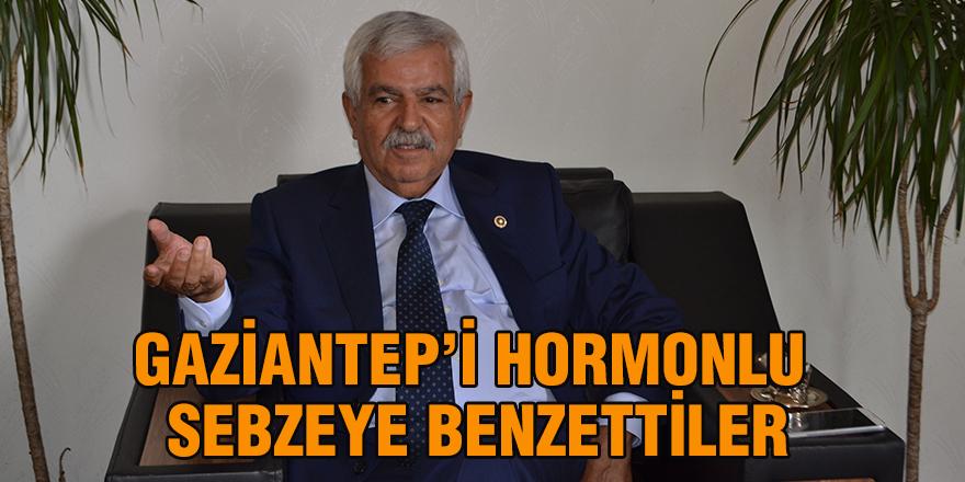 Gaziantep'i hormonlu sebzeye benzettiler