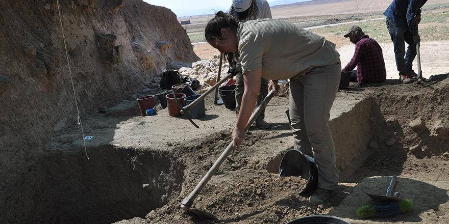 Zincirli Höyük'teki kazı bitti