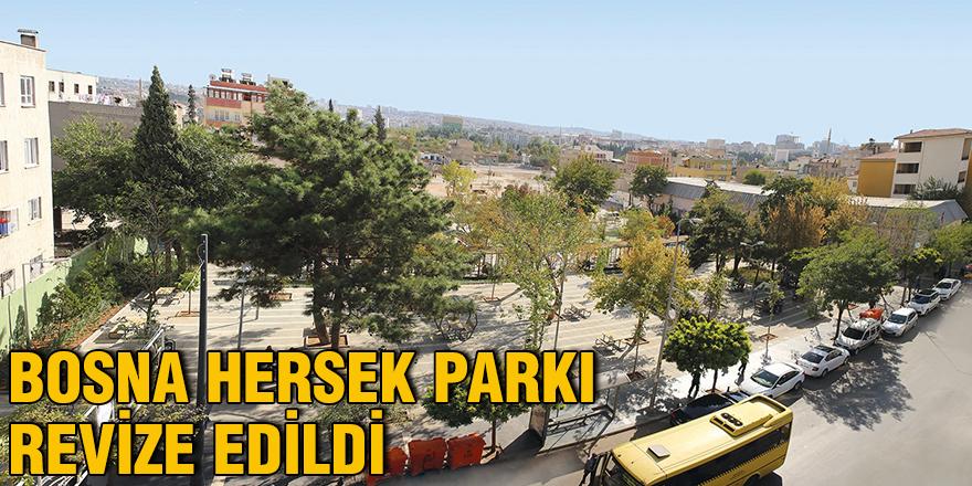 Bosna Hersek Parkı revize edildi
