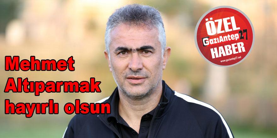 Gazişehir'in yeni teknik patronu Altıparmak