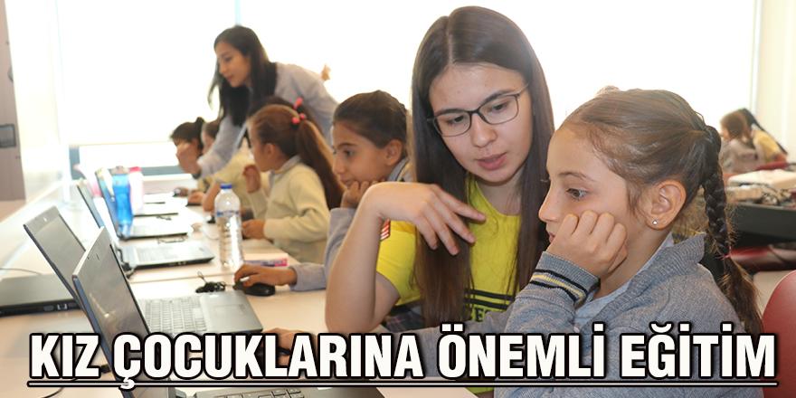 Kız çocuklarına önemli eğitim