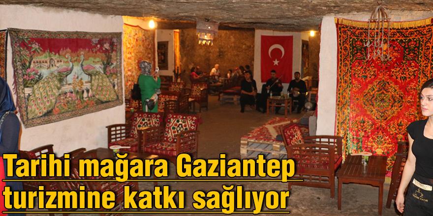 Tarihi mağara Gaziantep turizmine katkı sağlıyor