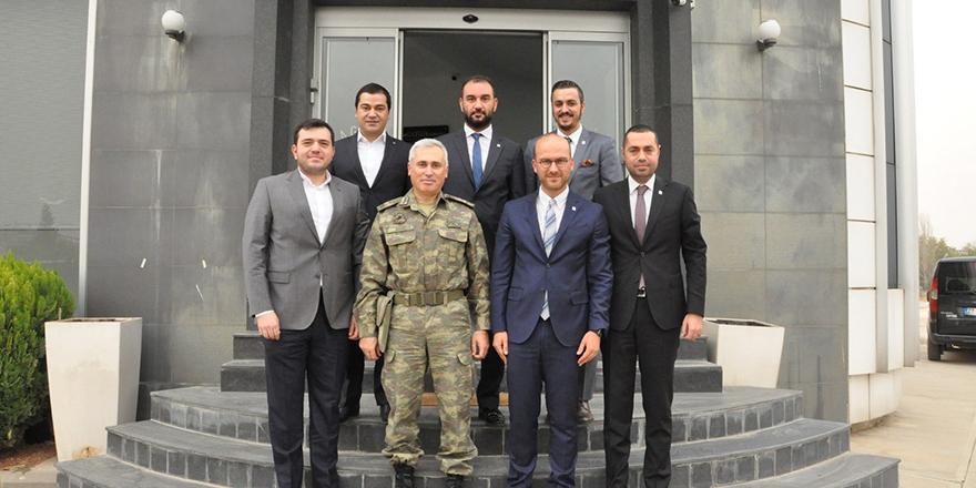 Tuğgeneral Atak'tan GAGİAD'a ziyaret