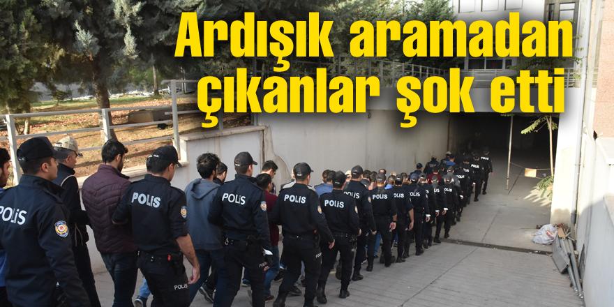"""""""Ardışık"""" aramadan dönemin tugay komutanı çıktı"""