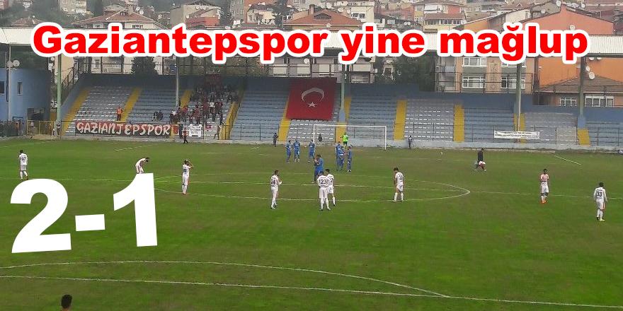 Gaziantepspor yine mağlup