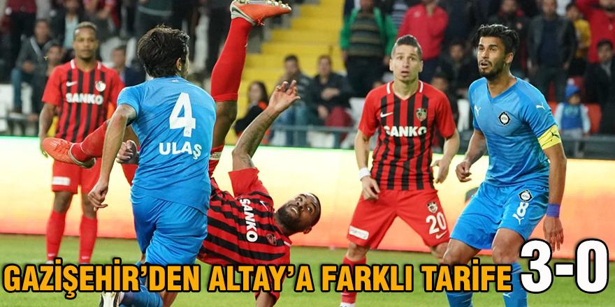 GAZİŞEHİR'DEN ALTAY'A FARKLI TARİFE 3-0