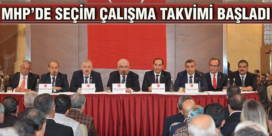 MHP'de seçim çalışma takvimi başladı