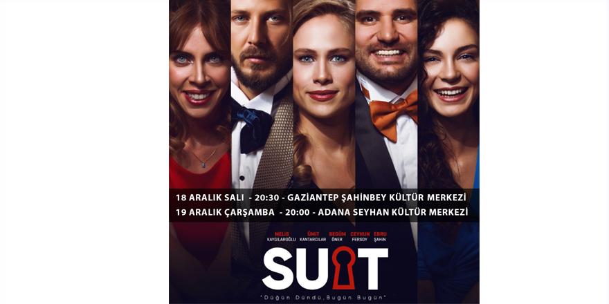 Suit, iddialı oyuncu kadrosuyla sahne alacak