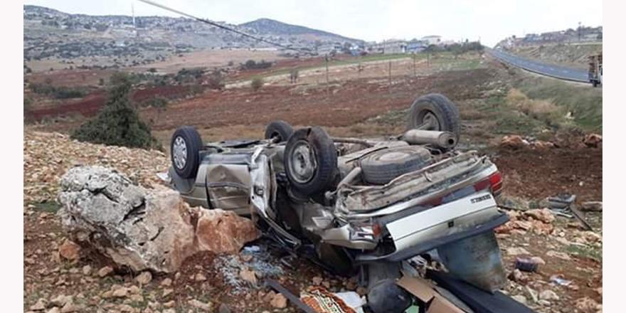 Taziye yolunda kaza: 4 yaralı