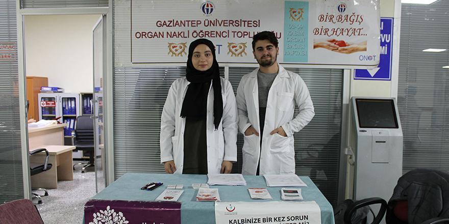 Hastaneden 'organ bağışı' standı