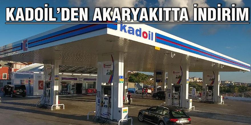 Kadoil'den akaryakıtta indirim