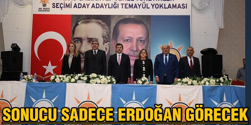 Sonucu sadece Erdoğan görecek
