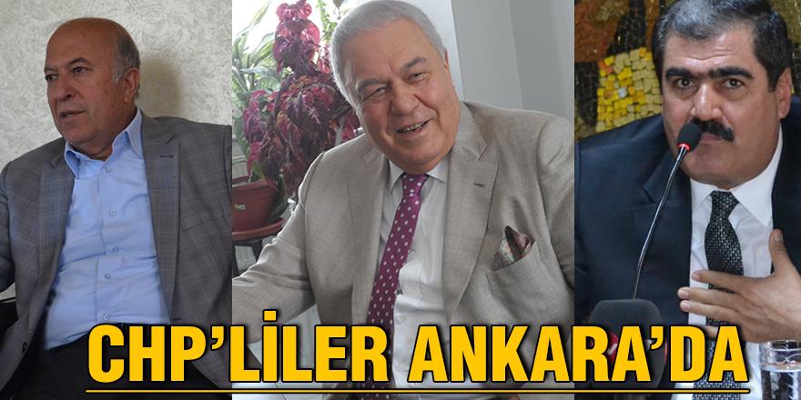 CHP'liler Ankara'da
