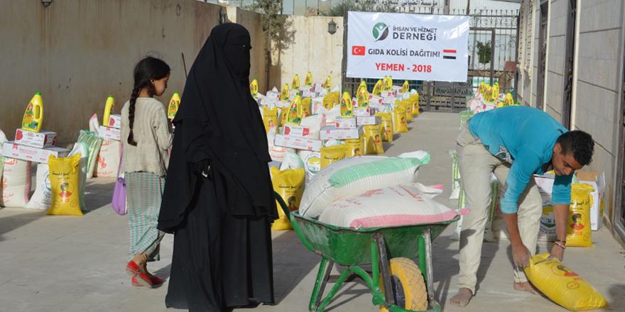 Yemen'e insani yardım