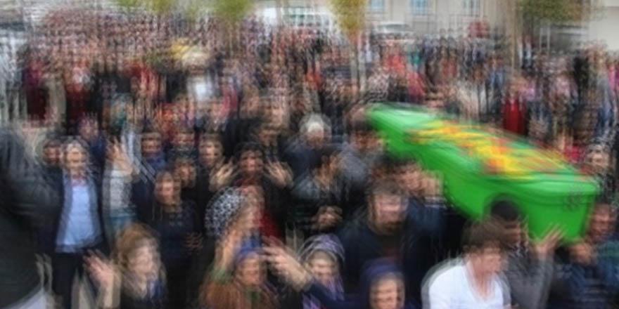 Firari terörist cenaze töreninde yakalandı
