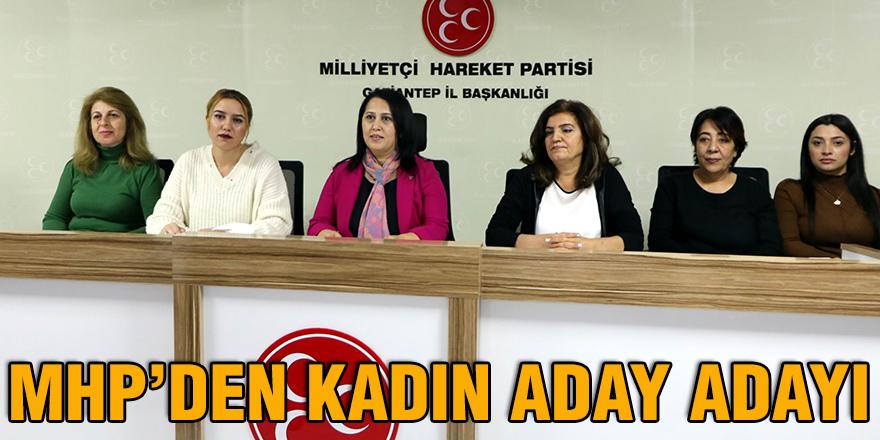 MHP'den kadın aday adayı