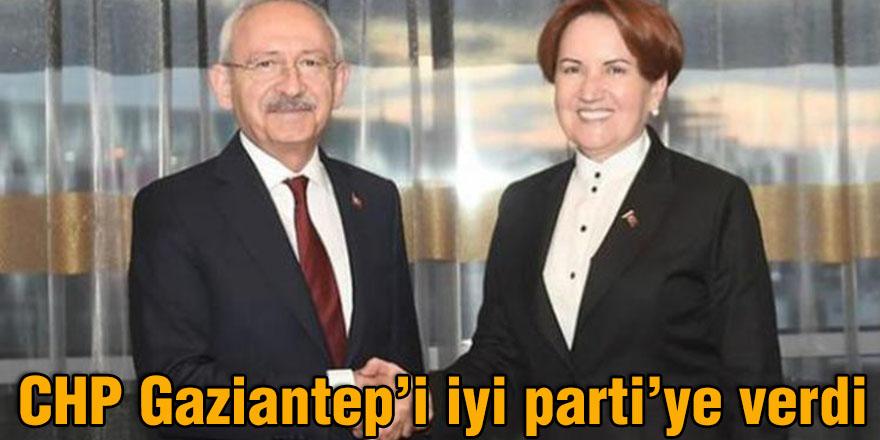 """CHP Gaziantep'i iyi parti""""ye verdi"""