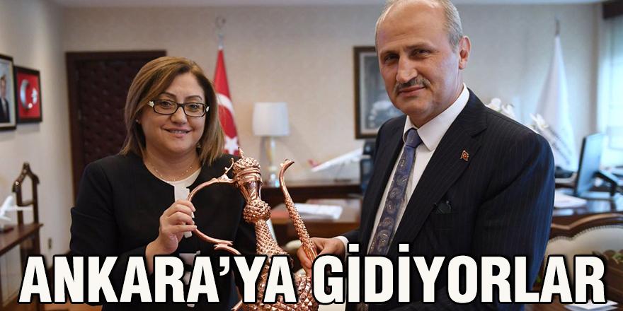Ankara'ya gidiyorlar