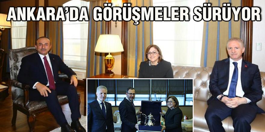 Ankara'da görüşmeler sürüyor