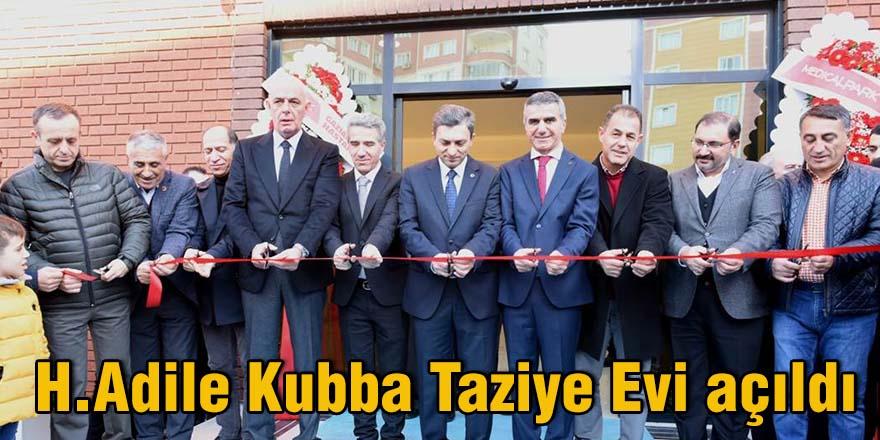 H.Adile Kubba Taziye Evi açıldı