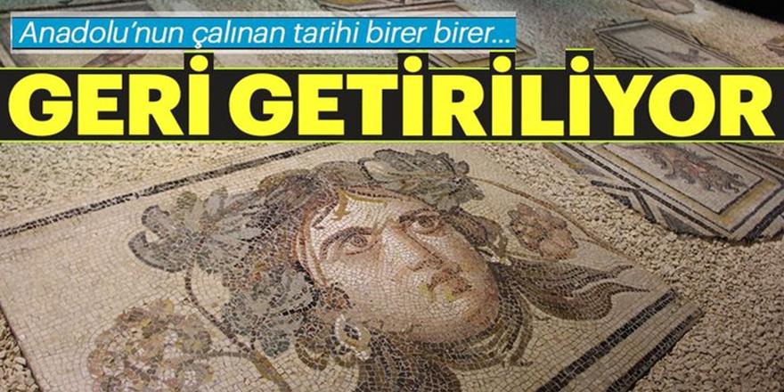 Anadolu'nun çalınan tarihi geri getiriliyor