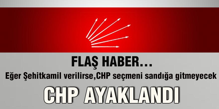 CHP ayaklandı
