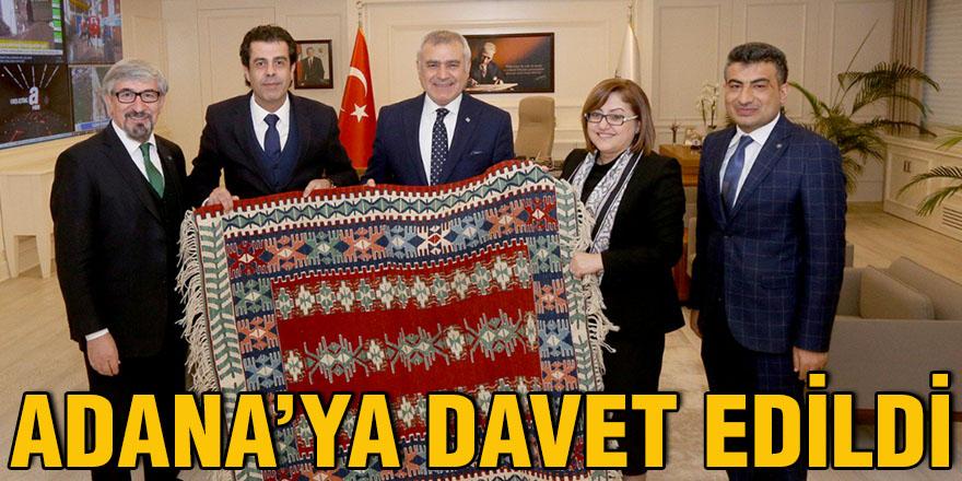 Adana'ya davet edildi