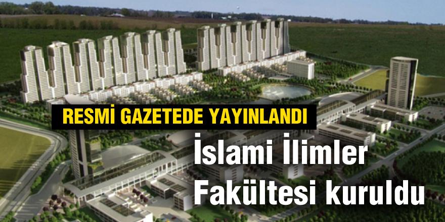 Gaziantep'te İslami İlimler Fakültesi kuruldu