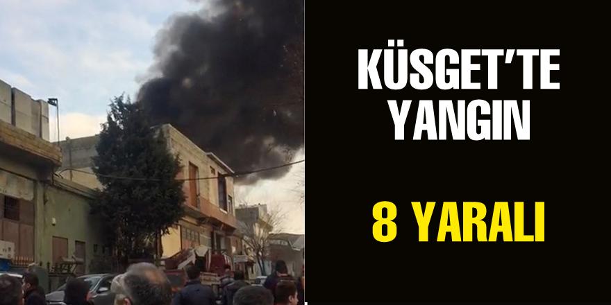 Küsget'teki patlamada 7 yaralı