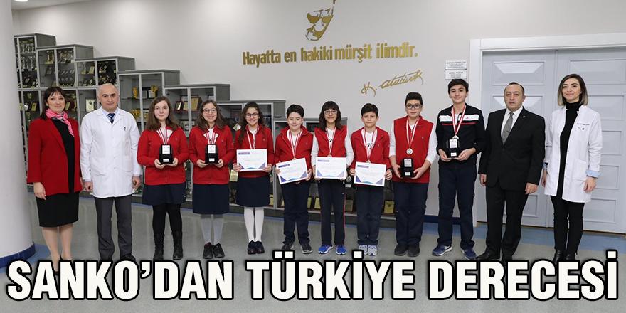 SANKO'dan Türkiye derecesi