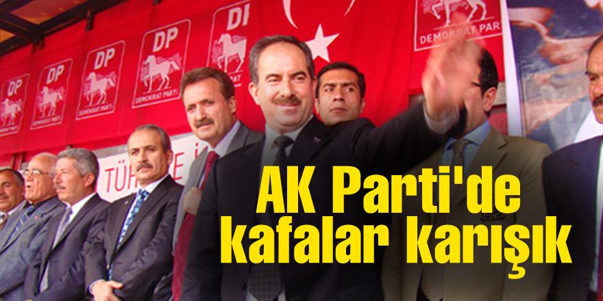 AK Parti'de kafalar karışık