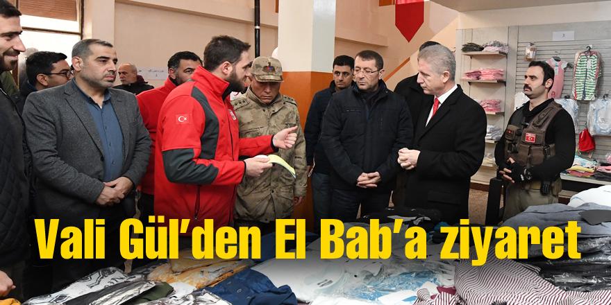 Vali Gül'den El Bab'a ziyaret