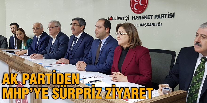 AK Partiden MHP'ye sürpriz ziyaret