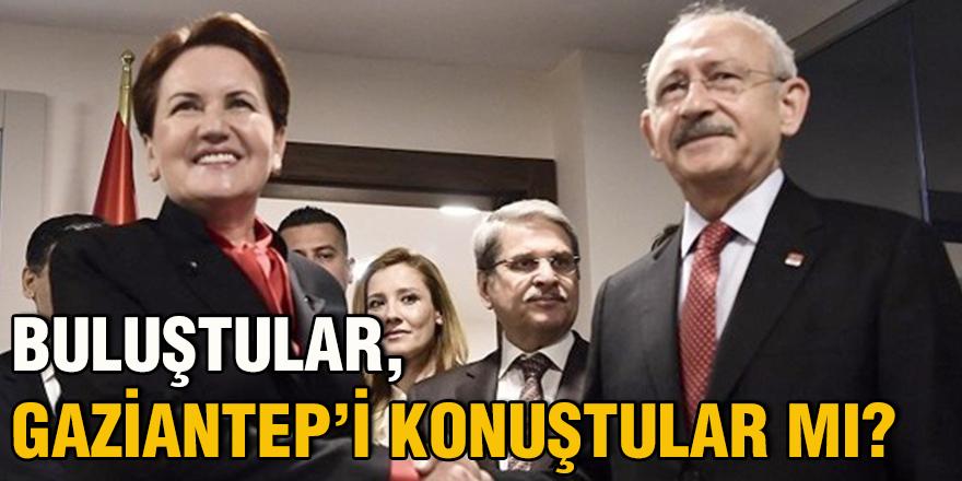 Buluştular, Gaziantep'i konuştular mı?
