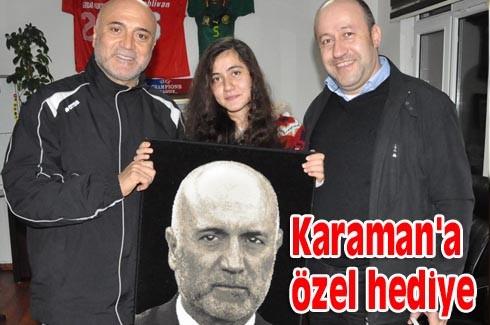 Karaman'a özel hediye
