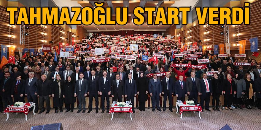 Tahmazoğlu start verdi