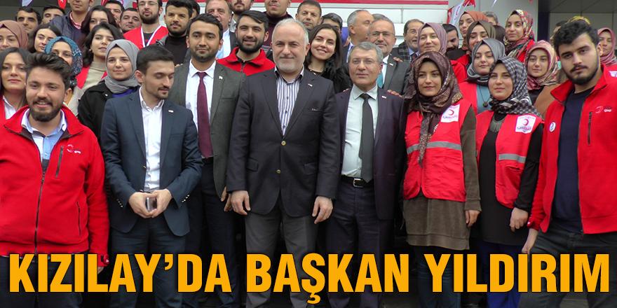 Kızılay'da Başkan Yıldırım