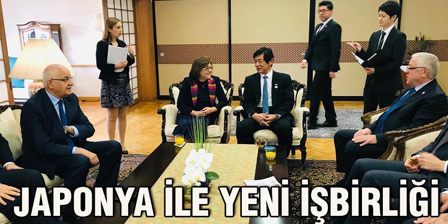 Japonya ile yeni işbirliği