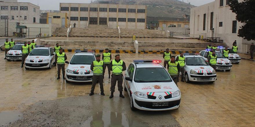 El Bab polisine trafik desteği