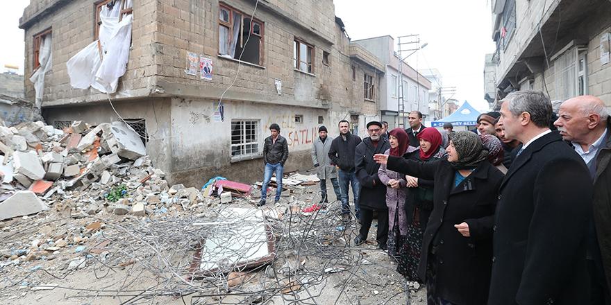 Tahmazoğlu patlamanın yaşandığı mahallede