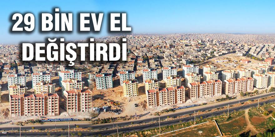Gaziantep'te 29 bin ev satıldı