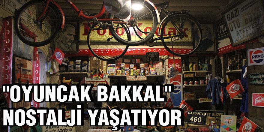 """""""Oyuncak Bakkal"""" nostalji yaşatıyor"""