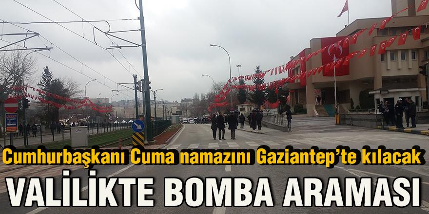 Cumhurbaşkanı Cuma namazını Gaziantep'te kılacak