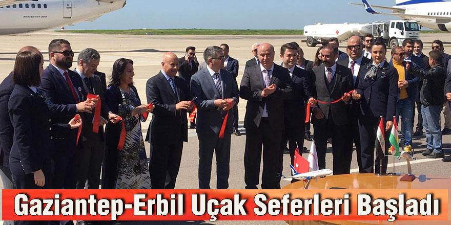 Gaziantep-Erbil Uçak Seferleri Başladı