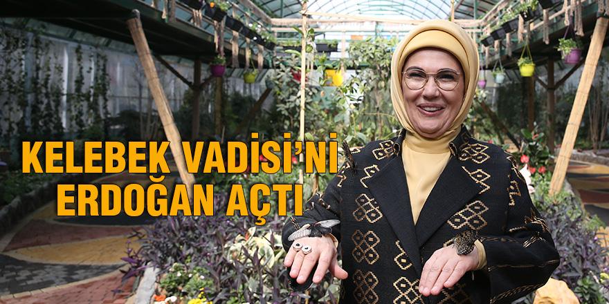 Kelebek Vadisi'ni Erdoğan açtı