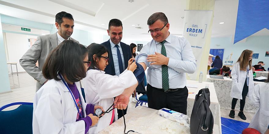 Erdem'in öğrencileri çok aktif