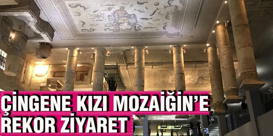 ÇİNGENE KIZI MOZAİĞİN'E REKOR ZİYARET