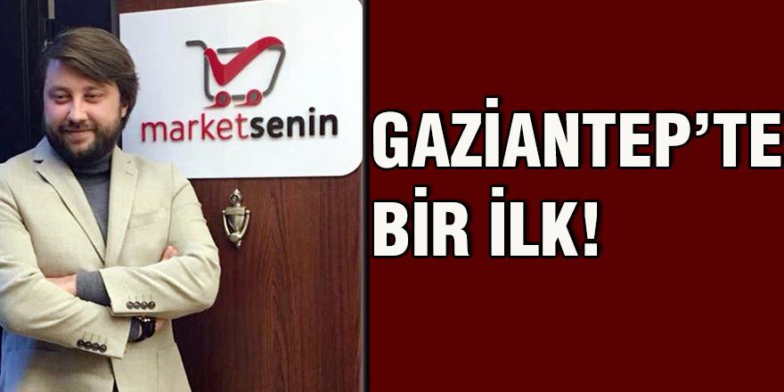 Gaziantep'te bir ilk!