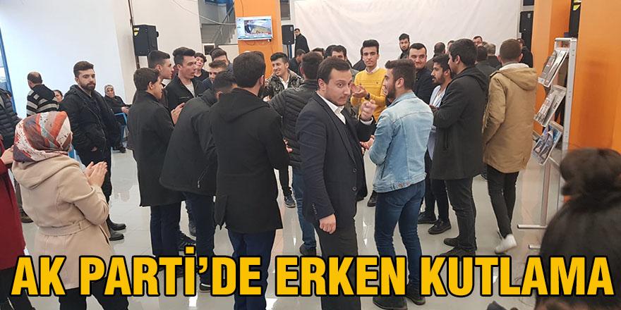 AK Parti'de erken kutlama