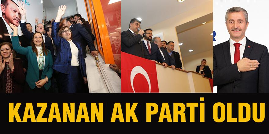 Kazanan AK Parti oldu